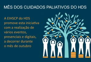 imagem do post do Mês dos Cuidados Paliativos do HDS